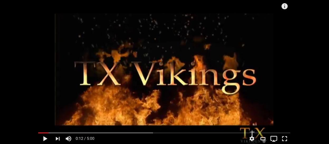 TX-Vikings Promo Video